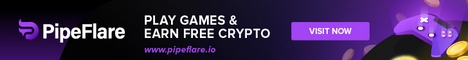 PipeFlare - Play Games & Earn Free Crypto